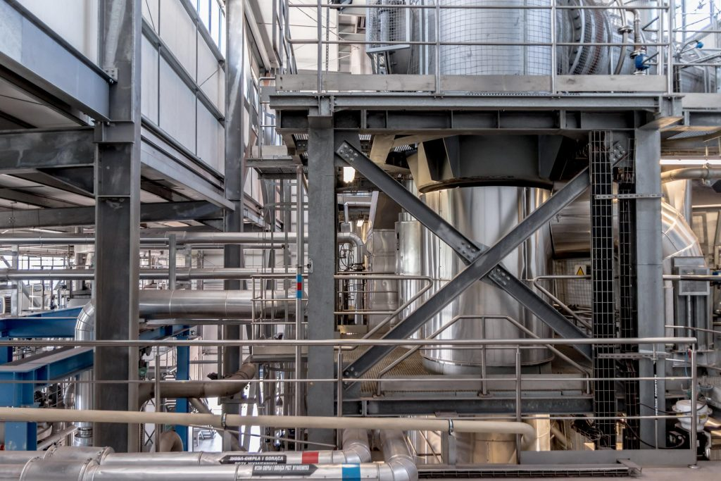 Chemieanlage | Prozessindustrie | Chemie | Fabrik